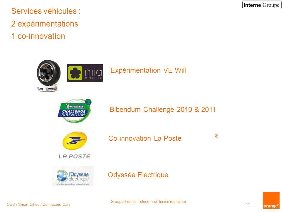 Services véhicules : 2 expérimentations 1 co-innovation