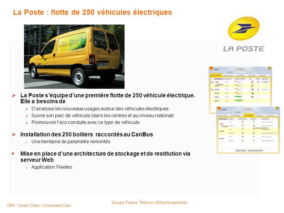 La Poste : flotte de 250 véhicules électriques