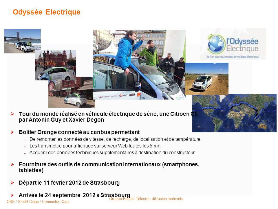 Odyssée Electrique Tour du monde réalisé en véhicule électrique de série, une Citroën C0 par Antonin Guy et Xavier Degon.