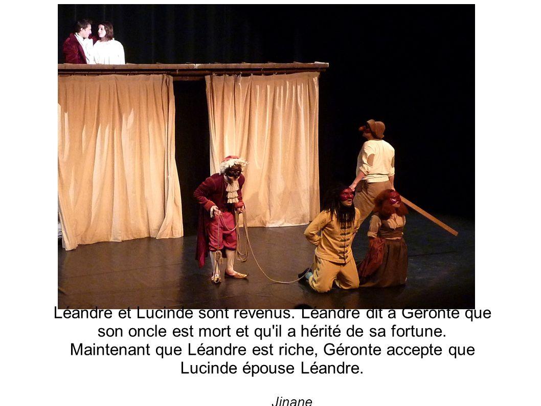 Léandre et Lucinde sont revenus