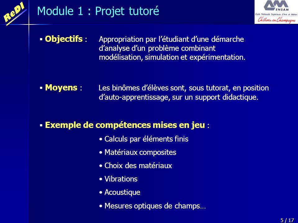 Module 1 : Projet tutoré