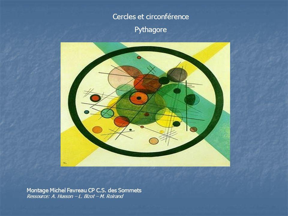 Cercles et circonférence