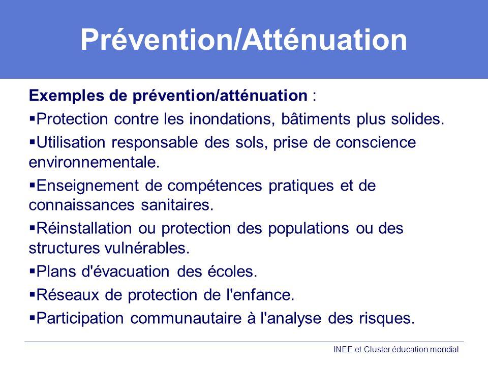 Prévention/Atténuation