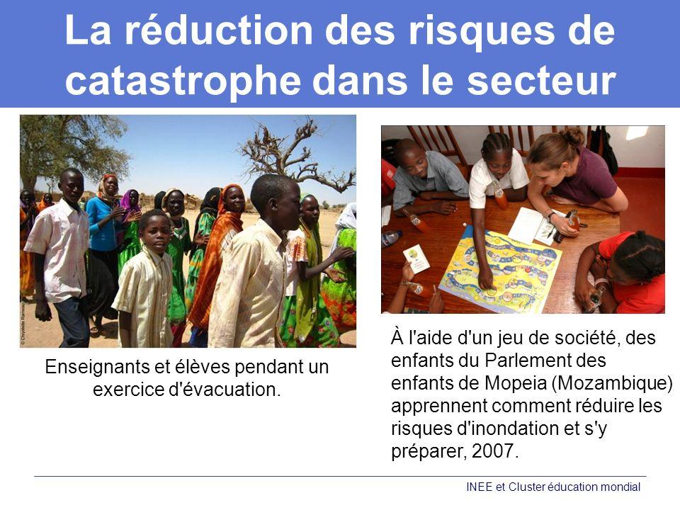 La réduction des risques de catastrophe dans le secteur de l éducation