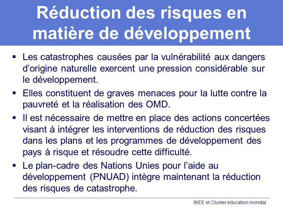 Réduction des risques en matière de développement
