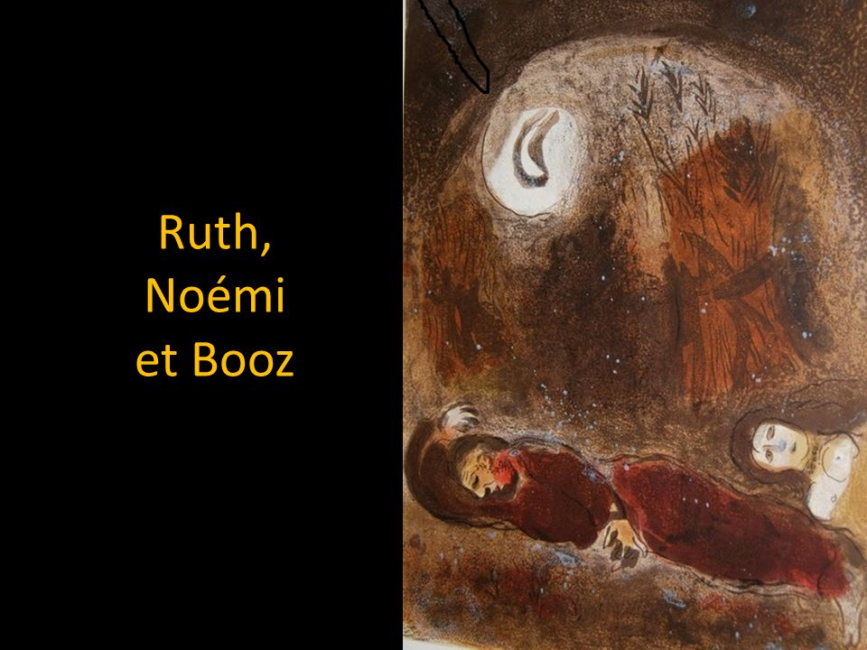 Ruth, Noémi et Booz