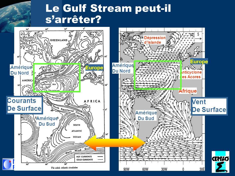 Le Gulf Stream peut-il s'arrêter