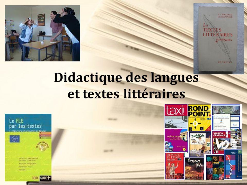 Didactique des langues