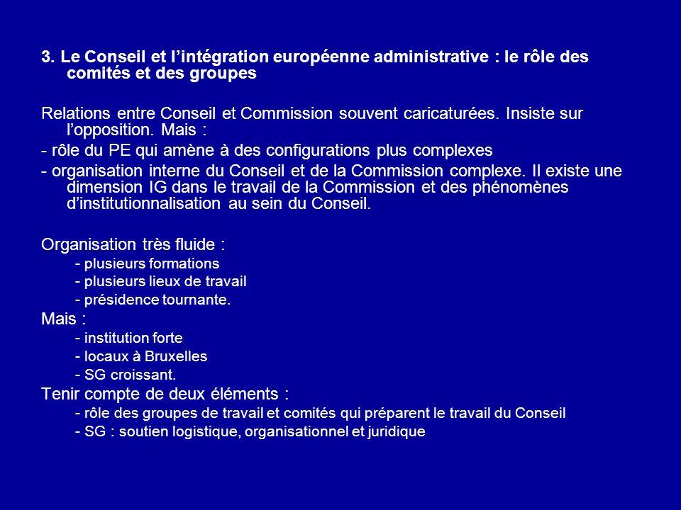 - rôle du PE qui amène à des configurations plus complexes