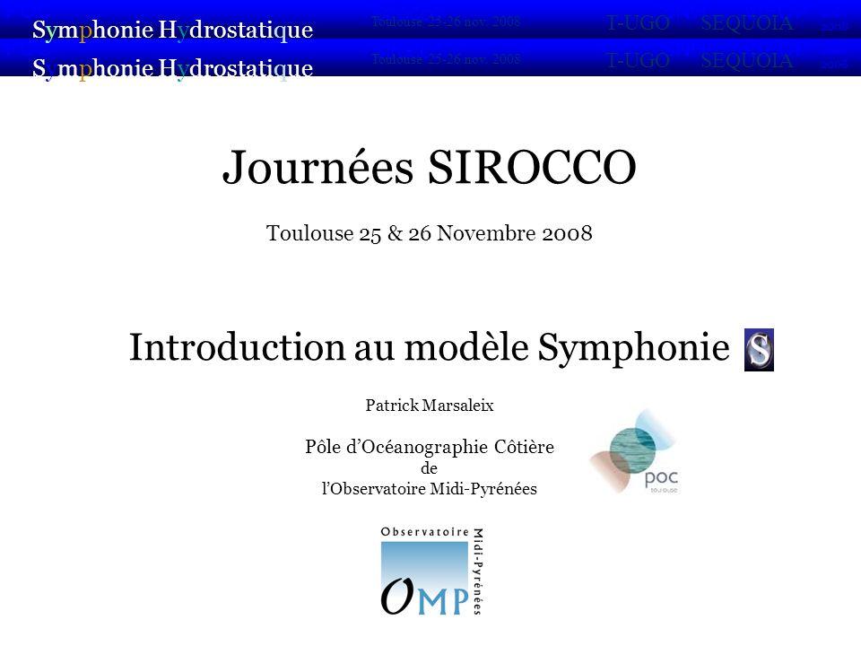 Journées SIROCCO Introduction au modèle Symphonie