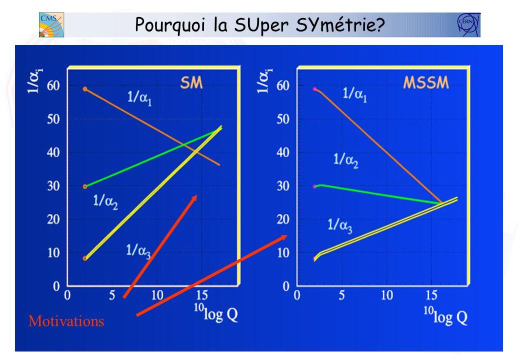 Pourquoi la SUper SYmétrie