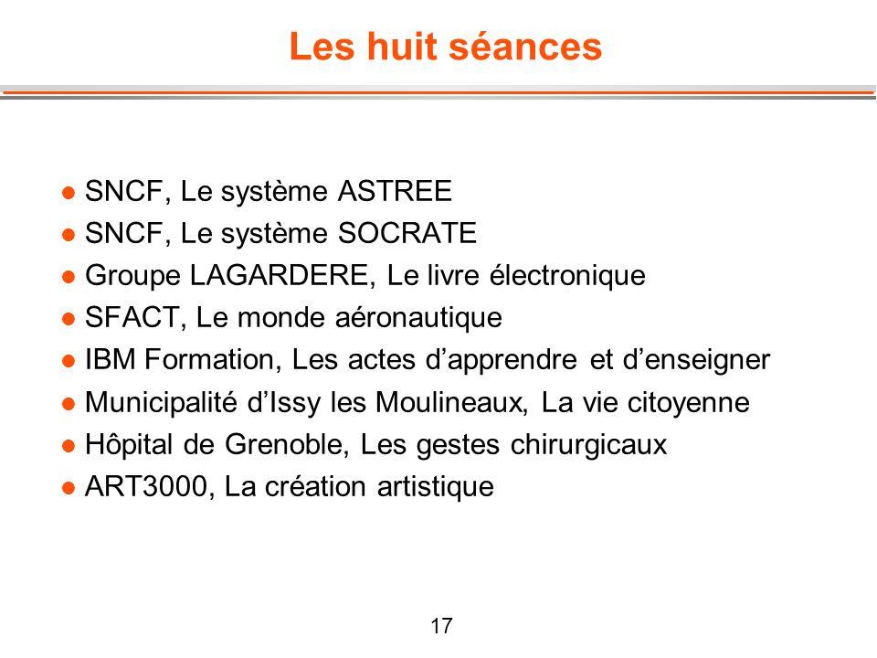 Les huit séances SNCF, Le système ASTREE SNCF, Le système SOCRATE