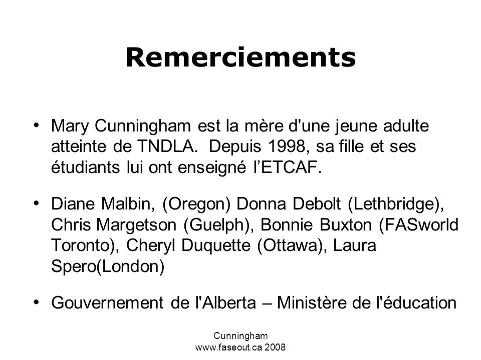 Cunningham www.faseout.ca 2008