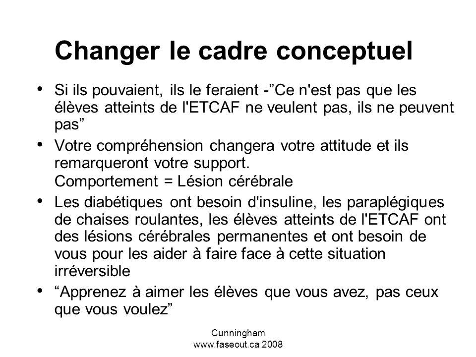 Changer le cadre conceptuel