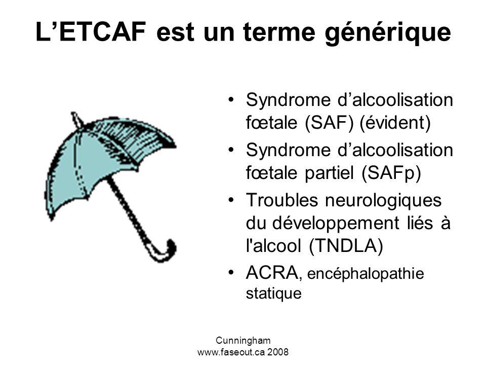 L'ETCAF est un terme générique