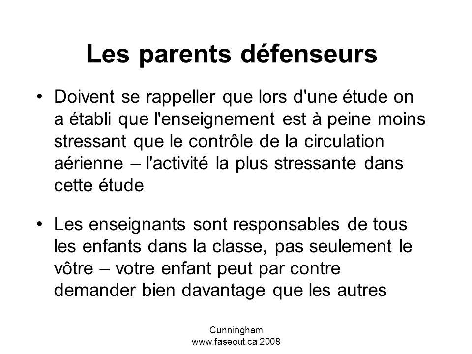 Les parents défenseurs