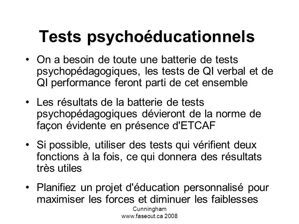 Tests psychoéducationnels