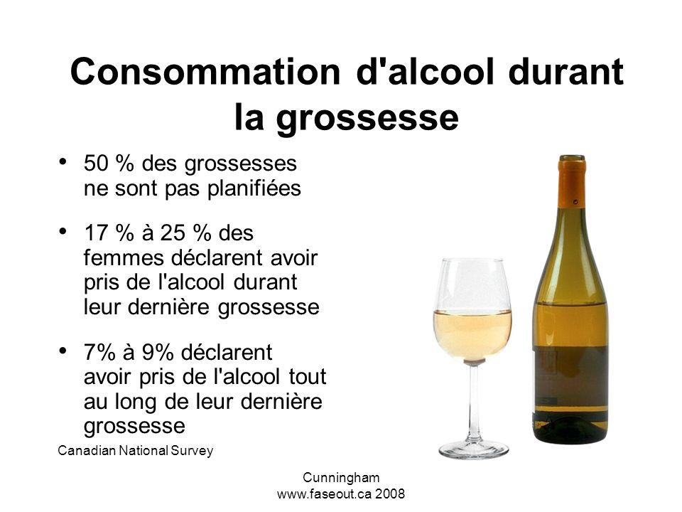 Consommation d alcool durant la grossesse