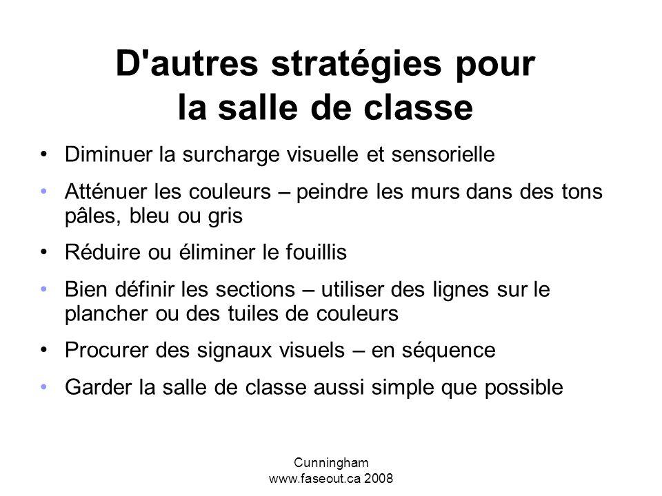 D autres stratégies pour la salle de classe