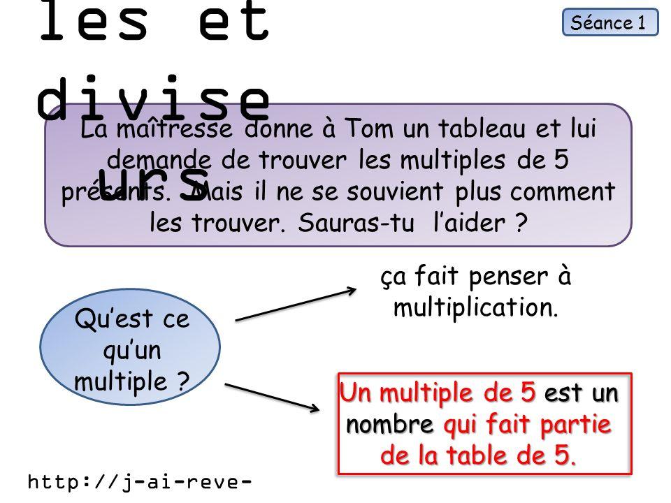 Multiples et diviseurs