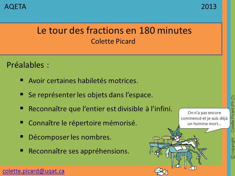 Le tour des fractions en 180 minutes
