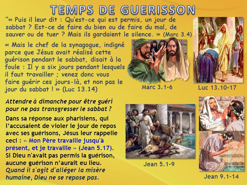 TEMPS DE GUERISSON