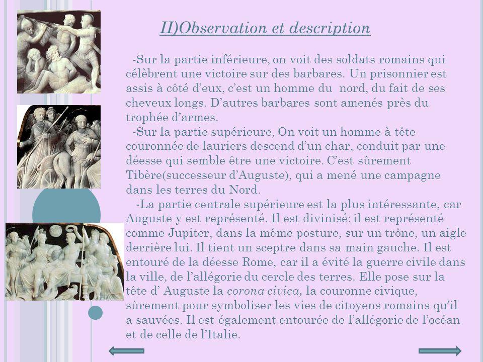 II)Observation et description
