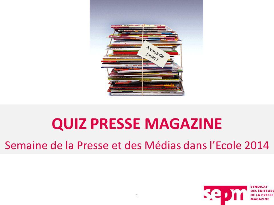 Semaine de la Presse et des Médias dans l'Ecole 2014