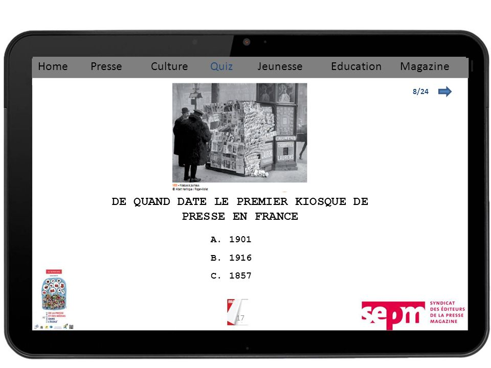DE QUAND DATE LE PREMIER KIOSQUE DE PRESSE EN FRANCE