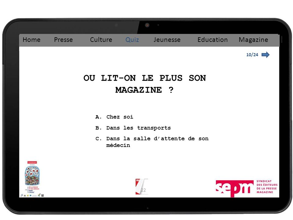 OU LIT-ON LE PLUS SON MAGAZINE