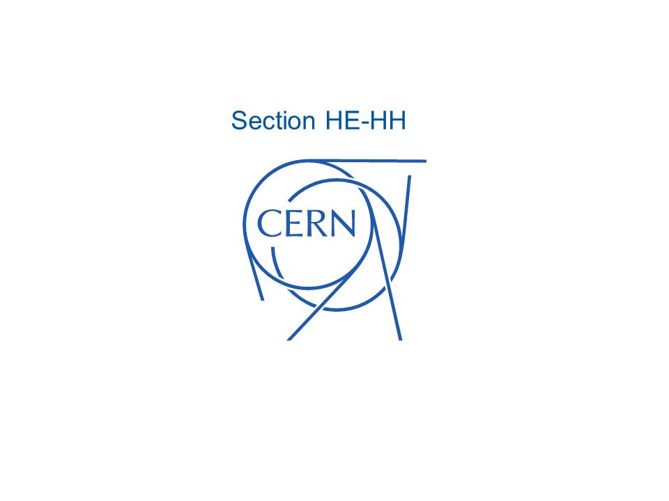 Section HE-HH