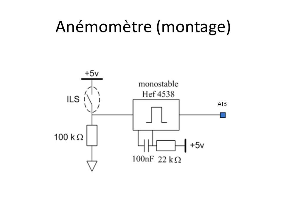 Anémomètre (montage) AI3