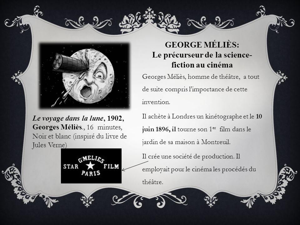 George Méliès: Le précurseur de la science-fiction au cinéma