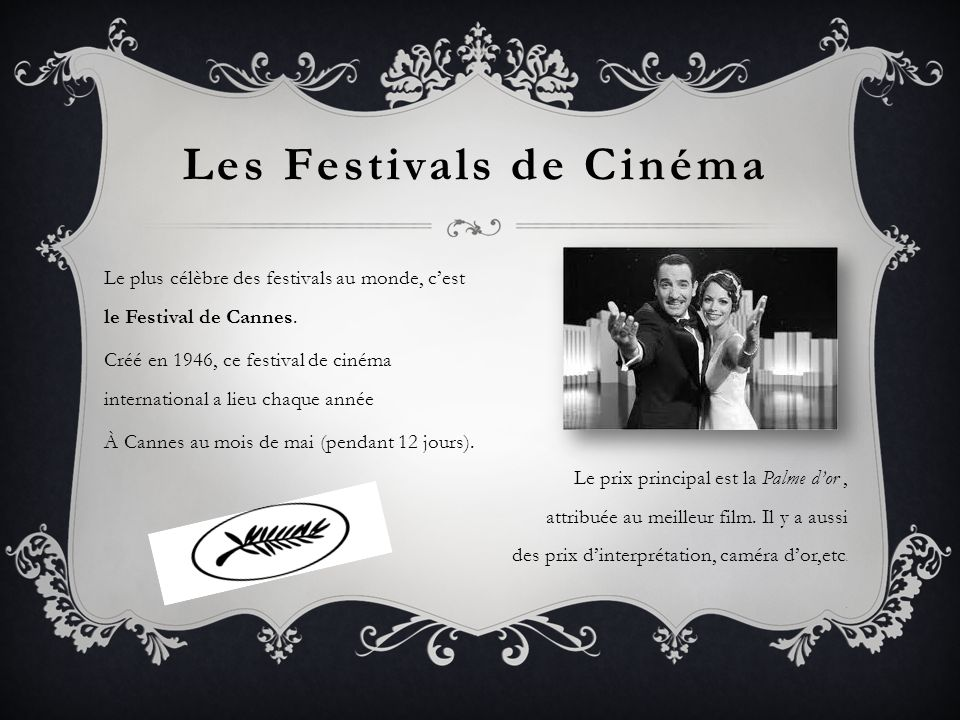 Les Festivals de Cinéma