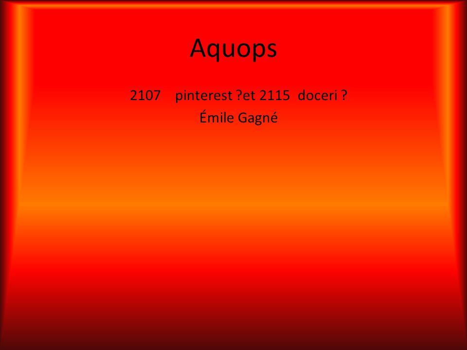 2107 pinterest et 2115 doceri Émile Gagné