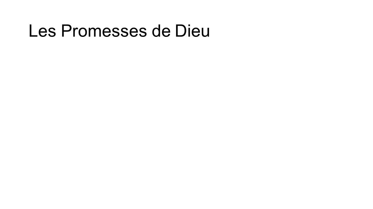 Les Promesses de Dieu