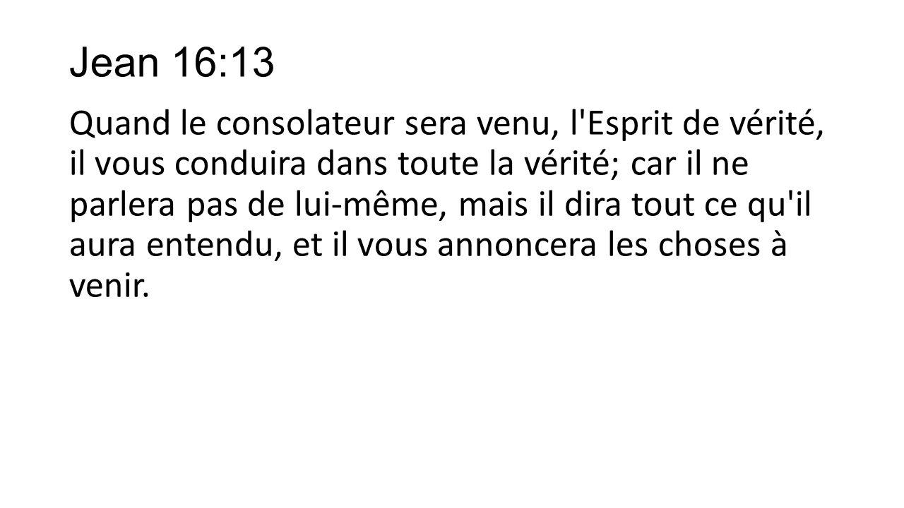 Jean 16:13