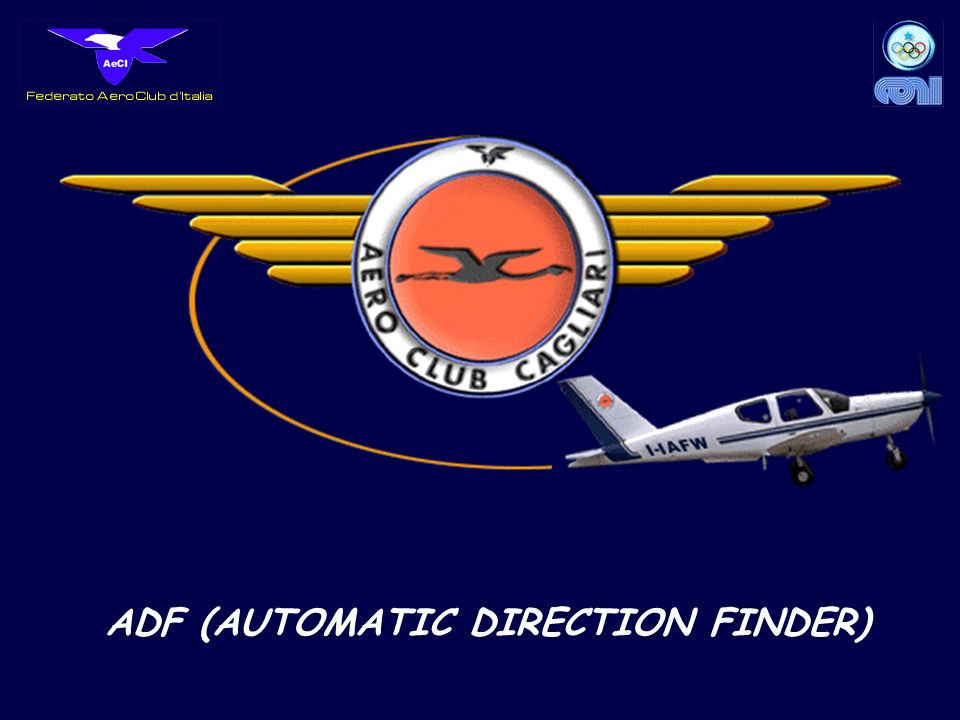 ADF (AUTOMATIC DIRECTION FINDER)