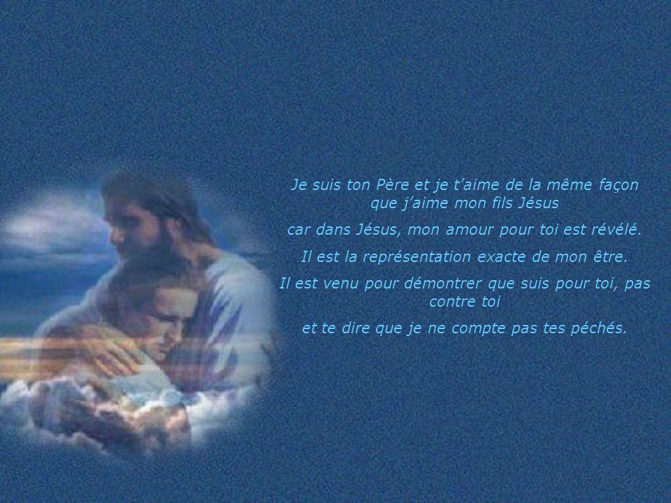 car dans Jésus, mon amour pour toi est révélé.