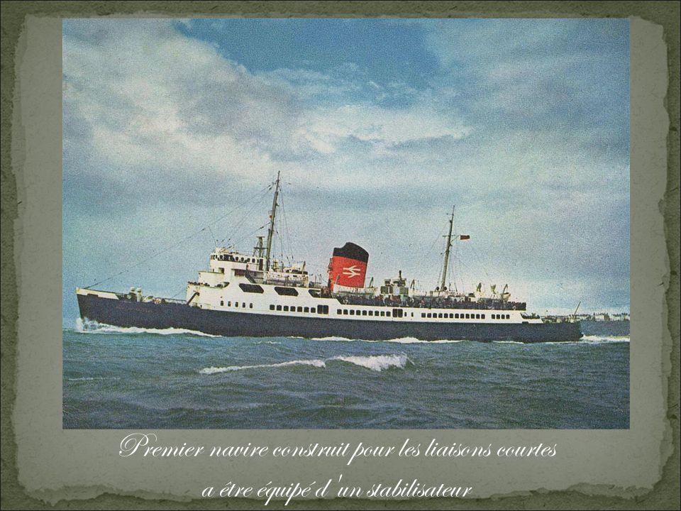 Premier navire construit pour les liaisons courtes