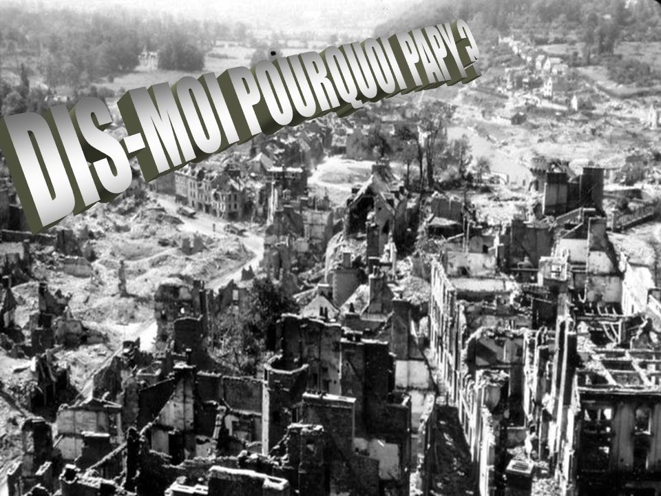 DIS-MOI POURQUOI PAPY
