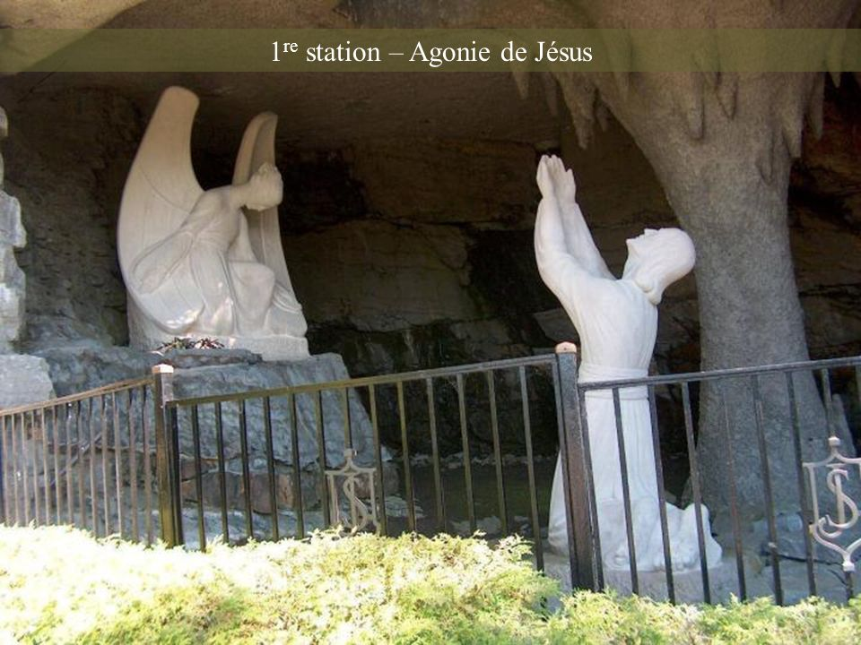 1re station – Agonie de Jésus