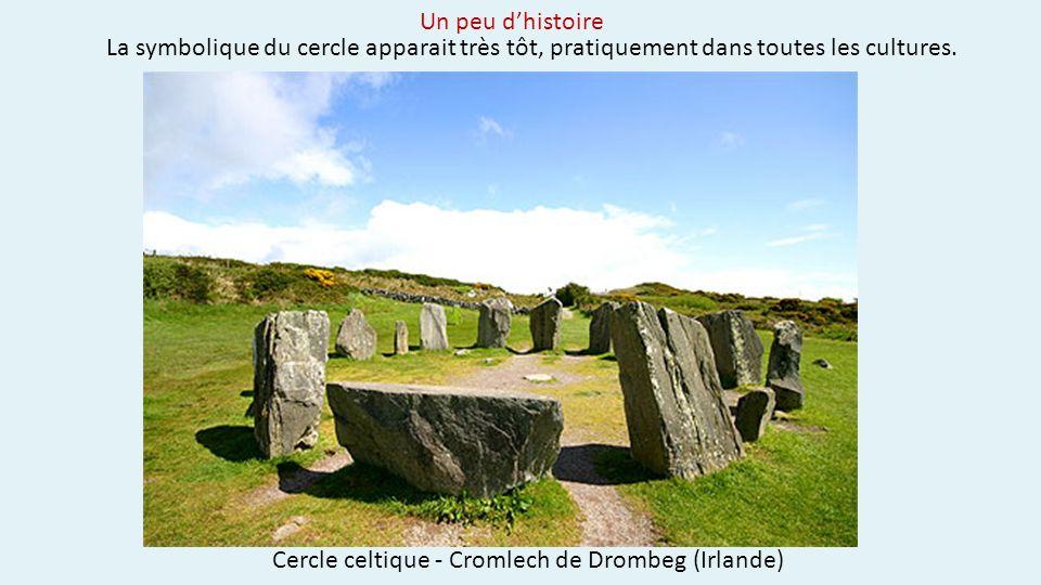 Cercle celtique - Cromlech de Drombeg (Irlande)