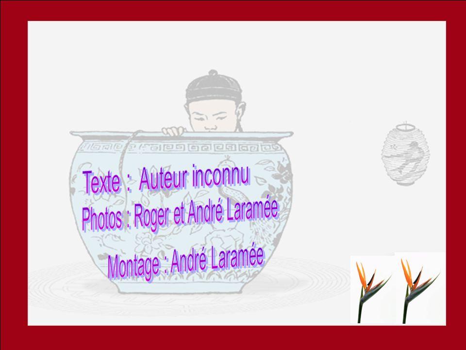 Texte : Auteur inconnu Photos : Roger et André Laramée