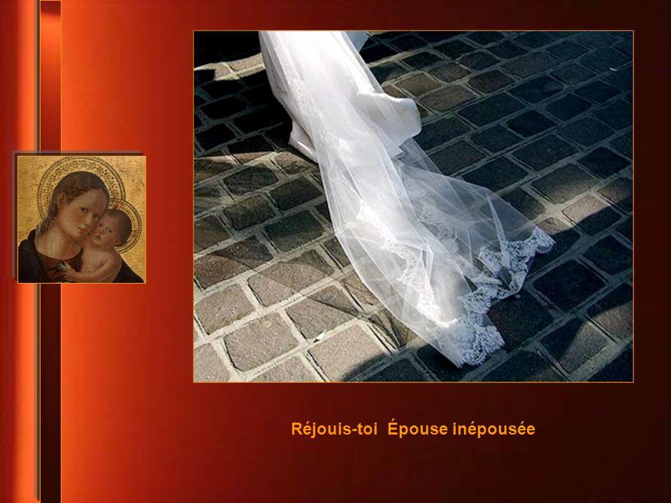Réjouis-toi Épouse inépousée