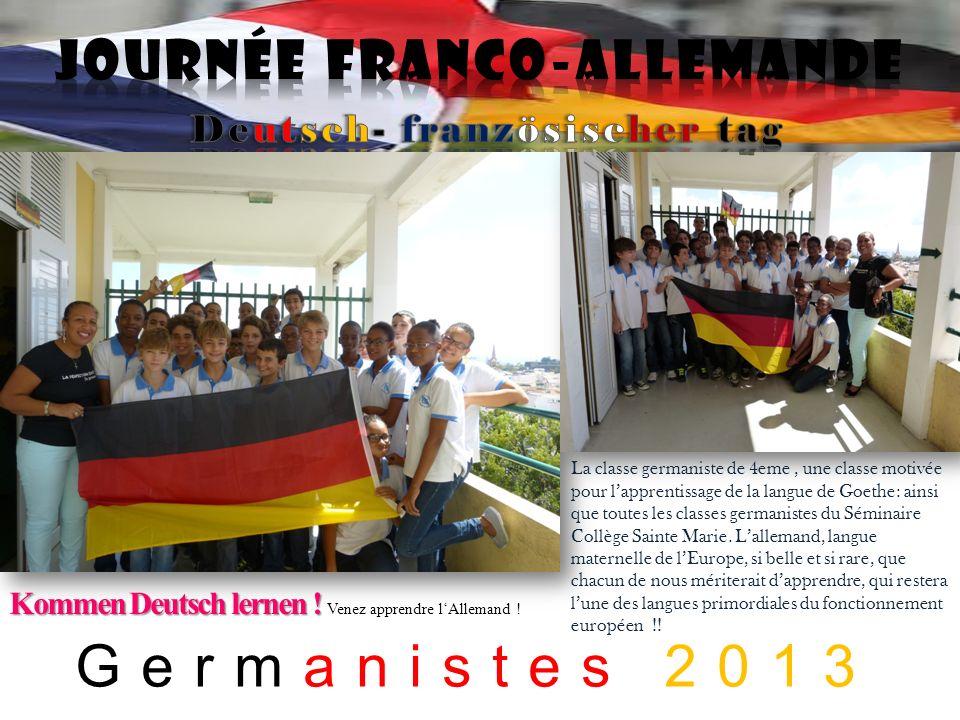 Journée franco-allemande Deutsch- französischer tag