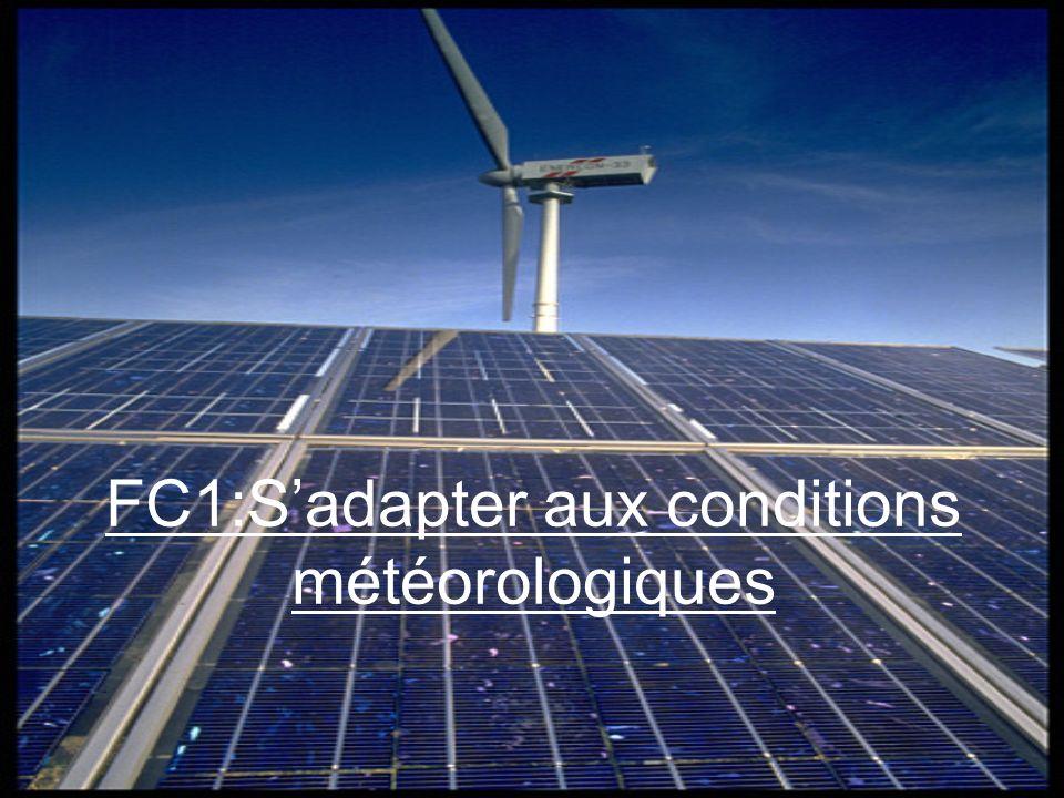 FC1:S'adapter aux conditions météorologiques