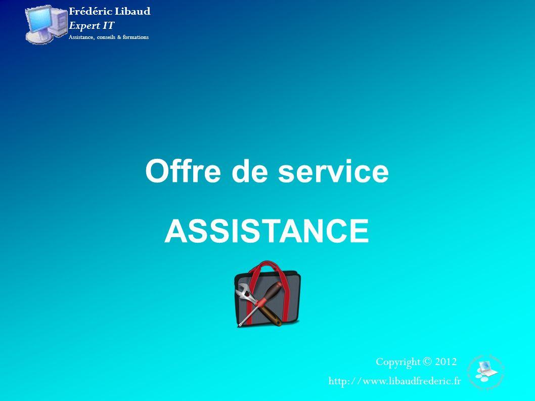 Offre de service ASSISTANCE