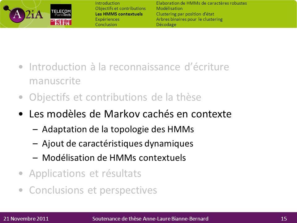 Introduction à la reconnaissance d'écriture manuscrite