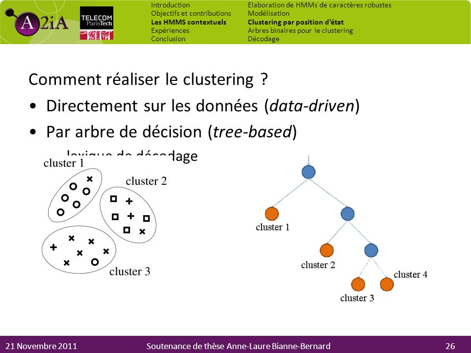 Comment réaliser le clustering